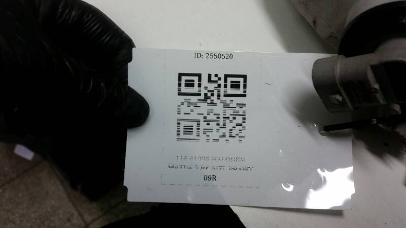 114-41098 HALOGEN MAZDA 3 BK MZL PRAWY 09R