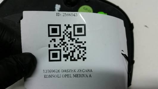 13169626 DASZEK ZEGARA KONSOLI OPEL MERIVA A
