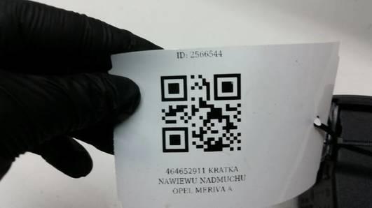 464652911 KRATKA NAWIEWU NADMUCHU OPEL MERIVA A