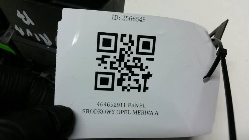 464652911 PANEL SRODKOWY OPEL MERIVA A