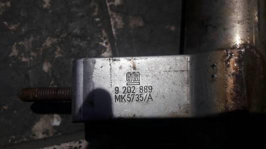 9202889 MK5735/A RURA WYDECHOWA PLECIONKA OPEL