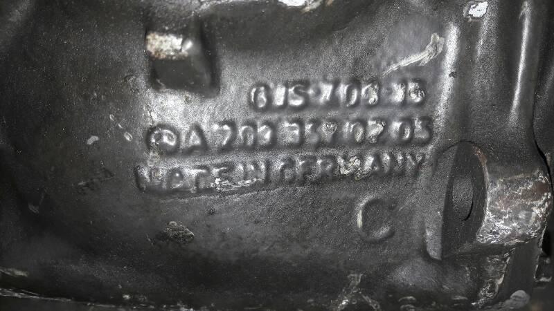 A2043510408 MOST DYFERENCJAL MERCEDES W203