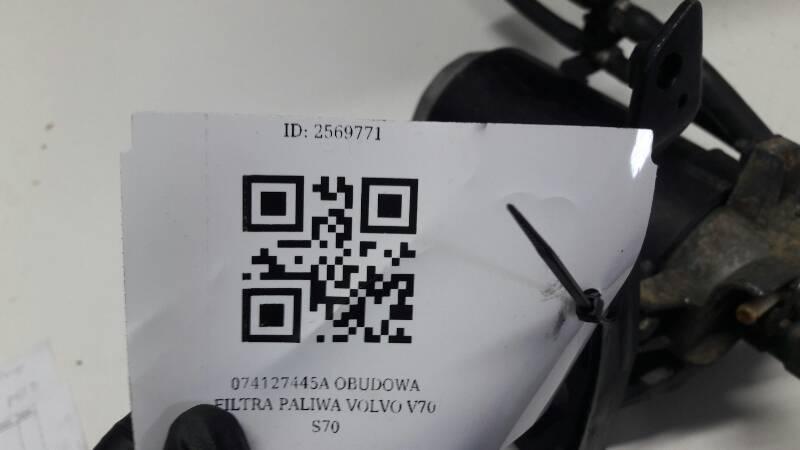 074127445A OBUDOWA FILTRA PALIWA VOLVO V70 S70