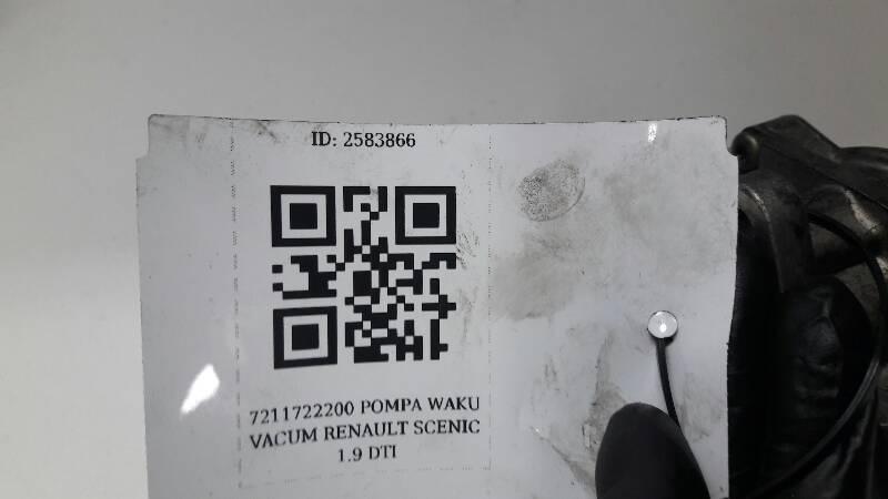 Modne ubrania 7211722200 POMPA WAKU VACUM RENAULT SCENIC 1.9 DTI - Pompy IS44