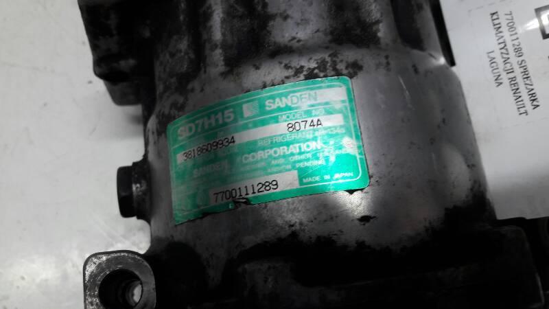 770011289 SPREZARKA KLIMATYZACJI RENAULT LAGUNA