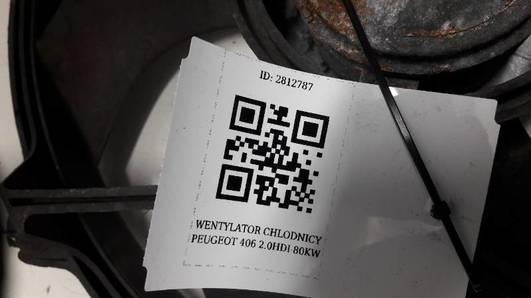 WENTYLATOR CHLODNICY PEUGEOT 406 2.0HDI 80KW