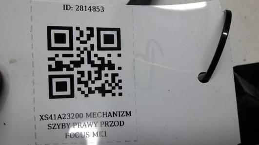 XS41A23200 MECHANIZM SZYBY PRAWY PRZOD FOCUS MK1