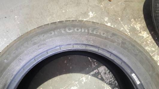 OPONY CONTINENTAL CONTISPORTCONTACT3 SSR 245/50R18