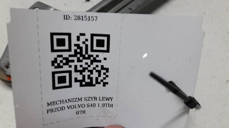 MECHANIZM SZYB LEWY TYL VOLVO S40 1.9TDI 07R