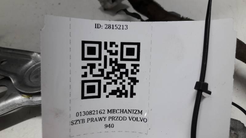 9126236 MECHANIZM SZYBY PRAWY PRZOD VOLVO 940