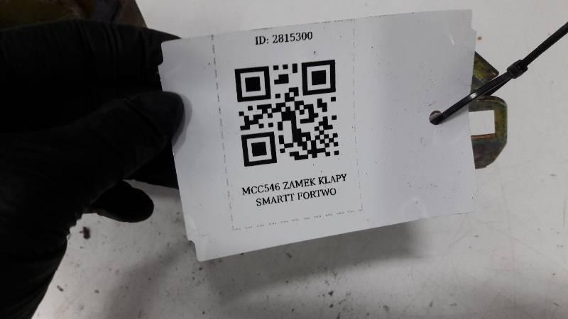 MCC546 ZAMEK KLAPY SMARTT FORTWO