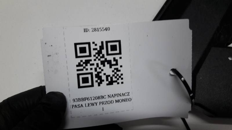 93BBF61209BC NAPINACZ PASA LEWY PRZOD MONEO I