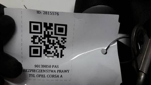 90139850 PAS BEZPIECZENSTWA PRAWY TYL OPEL CORSA A