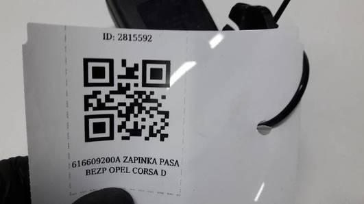 616609200A ZAPINKA PASA OPEL CORSA D