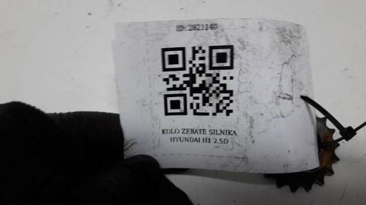 KOLO ZEBATE SILNIKA HYUNDAI H1 2.5D