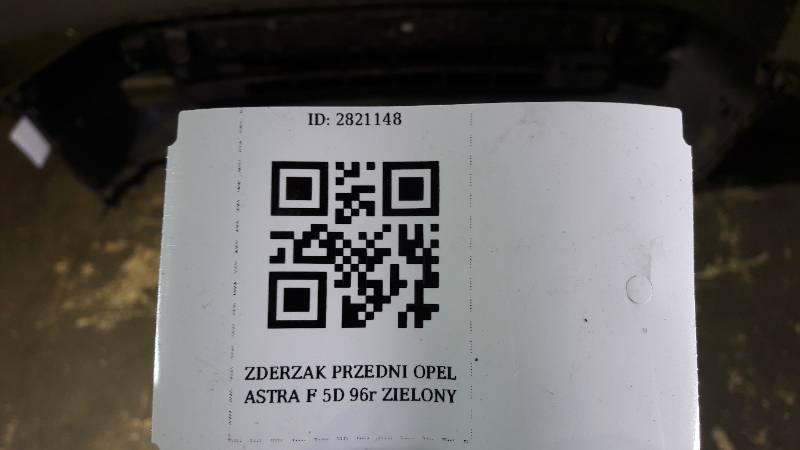 ZDERZAK PRZEDNI OPEL ASTRA F 5D 96r GRANATOWY