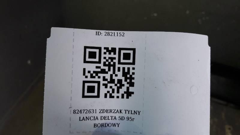 82472631 ZDERZAK TYLNY LANCIA DELTA 5D 95r BORDOWY
