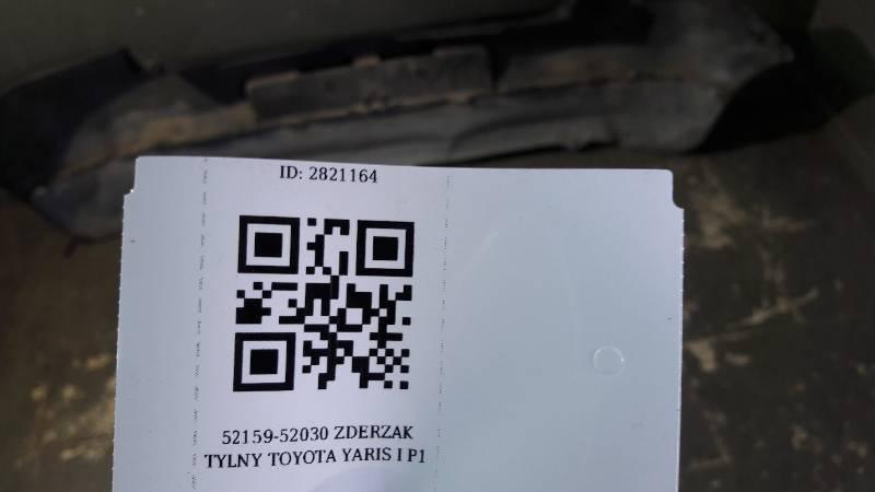 52159-52030 ZDERZAK TYLNY TOYOTA YARIS I P1