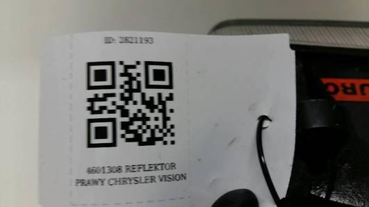 4601308 REFLEKTOR PRAWY CHRYSLER VISION