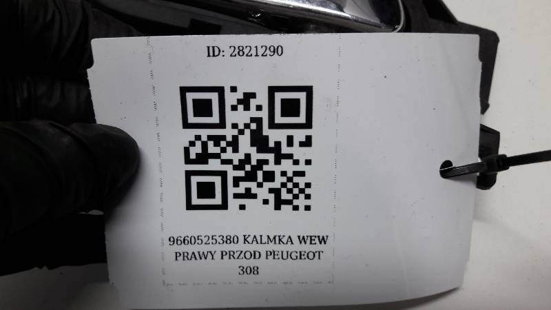 9660525380 KLAMKA PRAWY PRZOD PEUGEOT 308