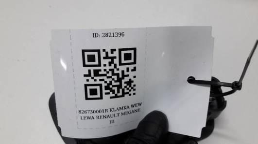 826730001R KLAMKA WEW LEWA RENAULT MEGANE III