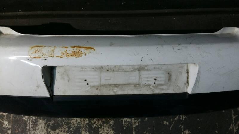 6X0807421 ZDERZAK TYLNY VW LUPO 6X BIALY