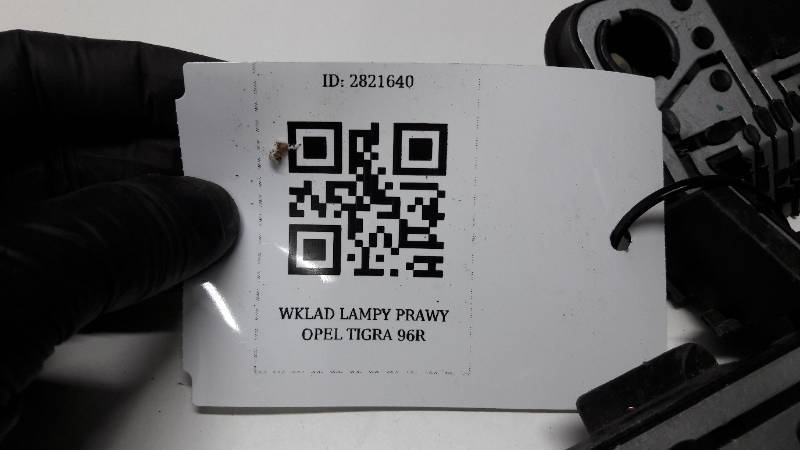 WKLAD LAMPY PRAWY OPEL TIGRA 96R