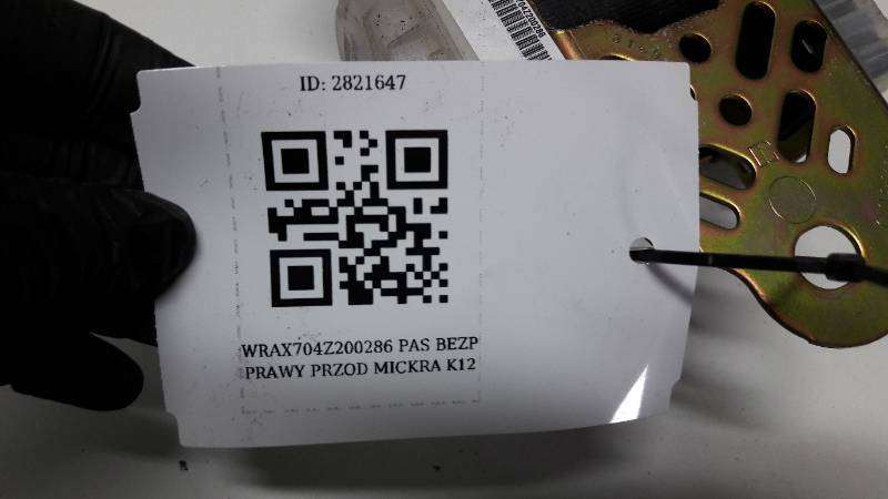 86884AX711 PAS PRAWY PRZOD MICKRA K12