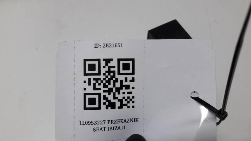 1L0953227 PRZEKAZNIK 21 SEAT IBIZA II