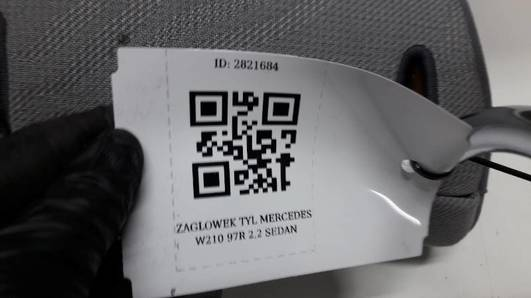 ZAGLOWEK TYL MERCEDES W210 97R 2.2 SEDAN