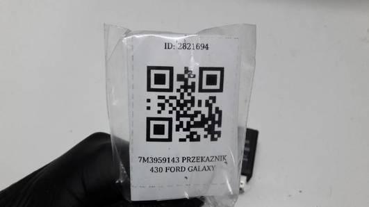 7M3959143 PRZEKAZNIK 430 FORD GALAXY