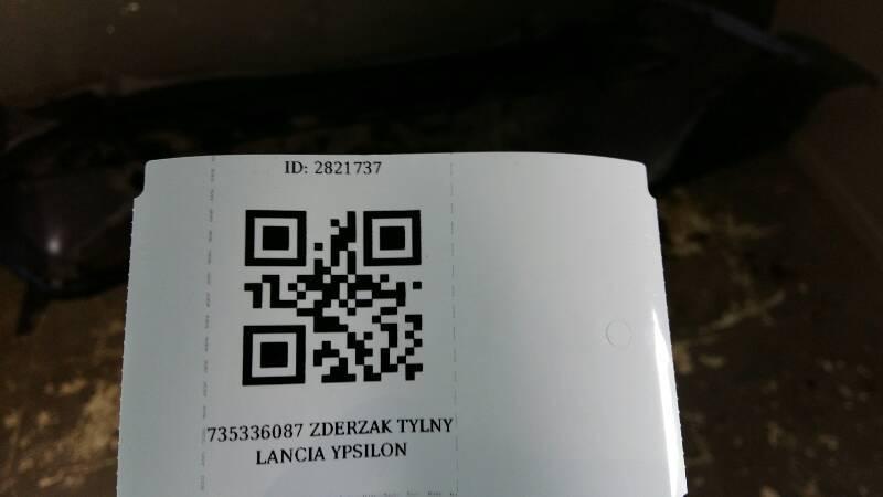 735336087 ZDERZAK TYLNY LANCIA YPSILON