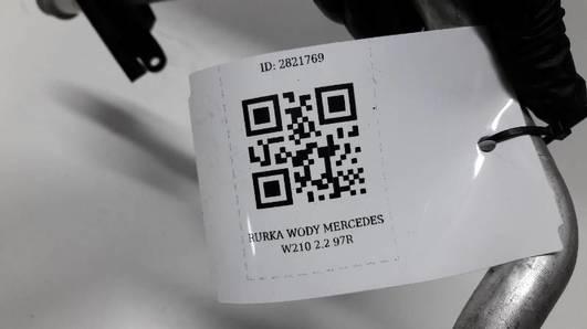 RURKA WODY MERCEDES W210 2.2 97R