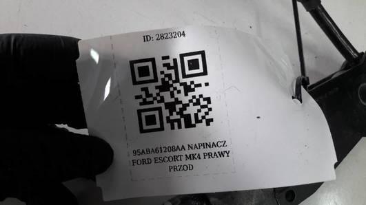 95ABA61208AA NAPINACZ  PRAWY PRZOD FORD ESCORT MK4