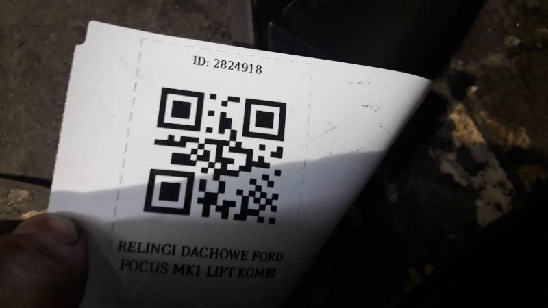 RELINGI DACHOWE FORD FOCUS MK1 LIFT KOMBI