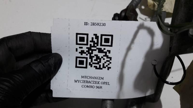MECHANIZM WYCIERACZEK OPEL COMBO 96R