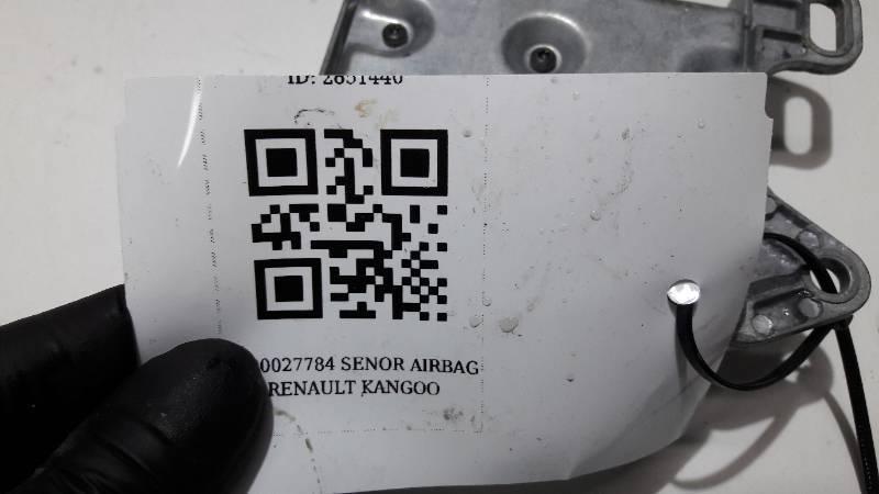 8200027784 SENSOR AIRBAG RENAULT KANGOO