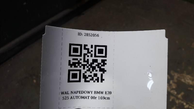 WAL NAPEDOWY BMW E39 525 AUTOMAT 00r 169cm