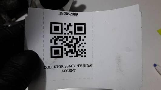 KOLEKTOR SSACY HYUNDAI ACCENT 1.3 95R