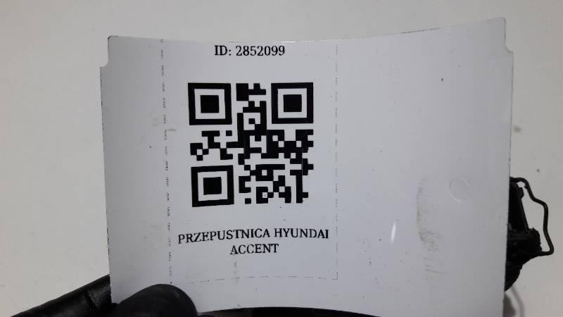 PRZEPUSTNICA HYUNDAI ACCENT 1.3