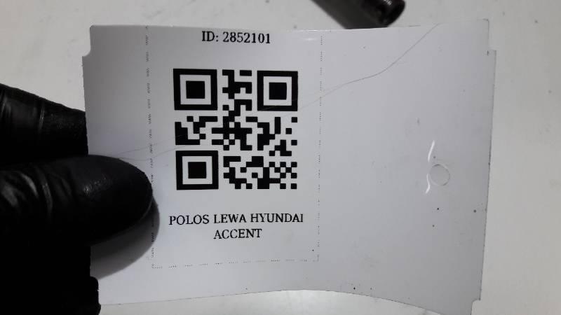 POLOS LEWA HYUNDAI ACCENT 25 ZEBY