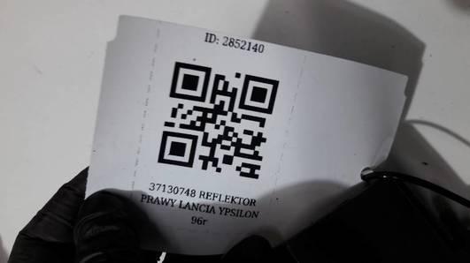37130748 REFLEKTOR PRAWY LANCIA YPSILON  96r