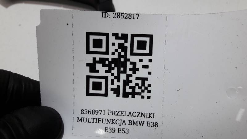 8368971 PRZELACZNIKI MULTIFUNKCJA BMW E38 E39 E53