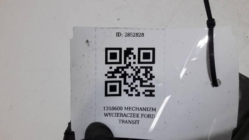 1358600 MECHANIZM WYCIERACZEK FORD TRANSIT