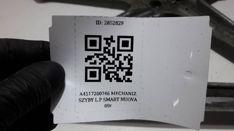 A4517200746 MECHANIZ SZYBY L.P SMART NUOVA 09r