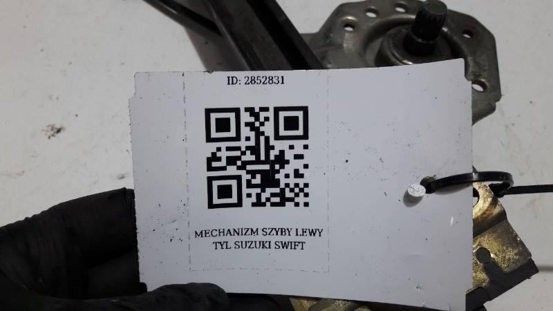 MECHANIZM SZYBY LEWY TYL SUZUKI SWIFT II