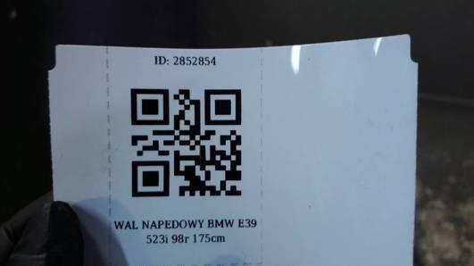 WAL NAPEDOWY BMW E39 523i 98r 175cm