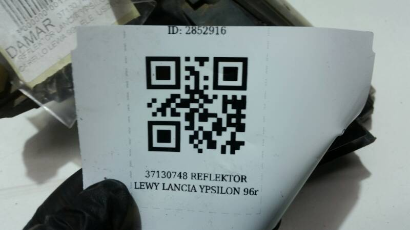 37130748 REFLEKTOR LEWY LANCIA YPSILON  96r