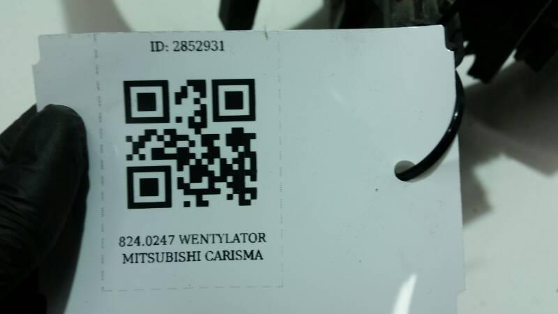 8240247 WENTYLATOR MITSUBISHI CARISMA