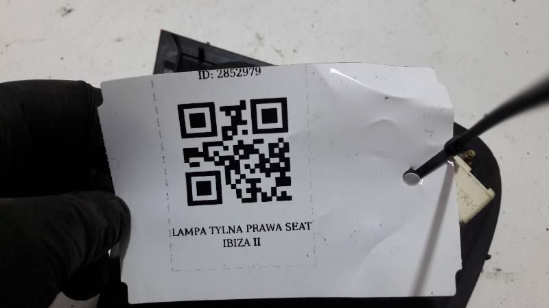 LAMPA TYLNA PRAWA SEAT IBIZA II LIFT